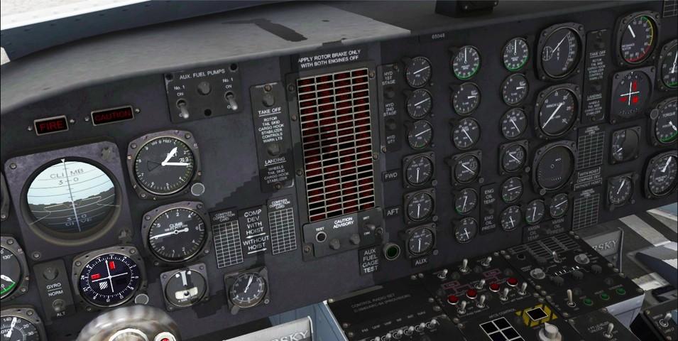 CH-54A & Erickson S-64E (FSX/FSXSE/P3D))