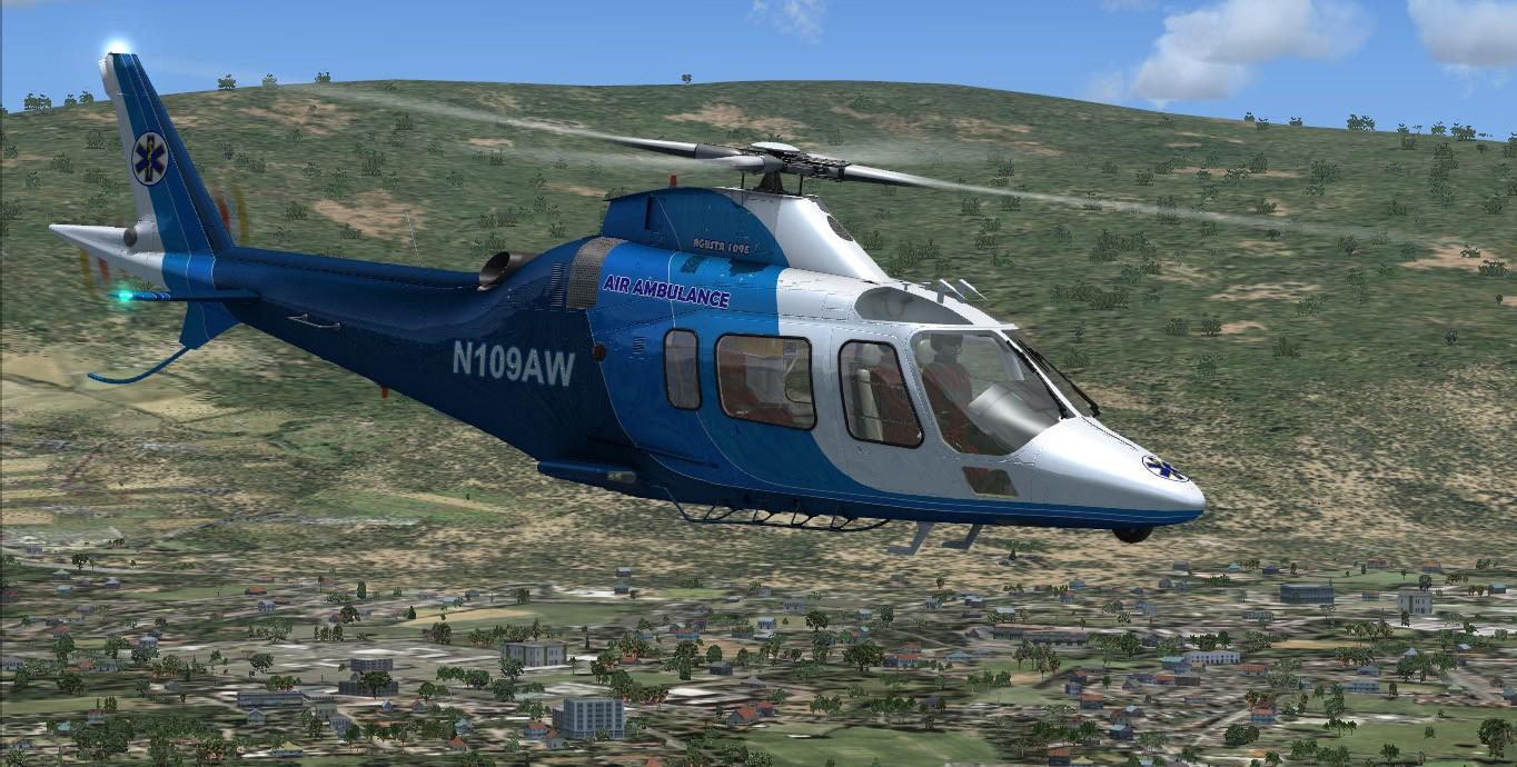 AgustaWestland AW109 (FSX/FSXSE/P3D)