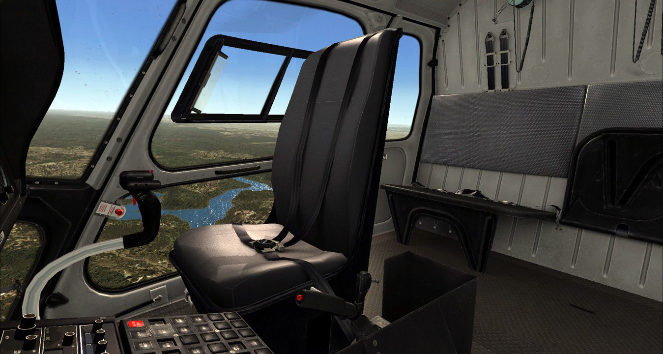 Aerospatiale AS350 (FSX/FSXSE/P3D)