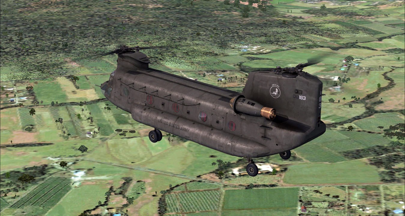 Boeing CH-47 Chinook (FSX/FSXSE/P3D)
