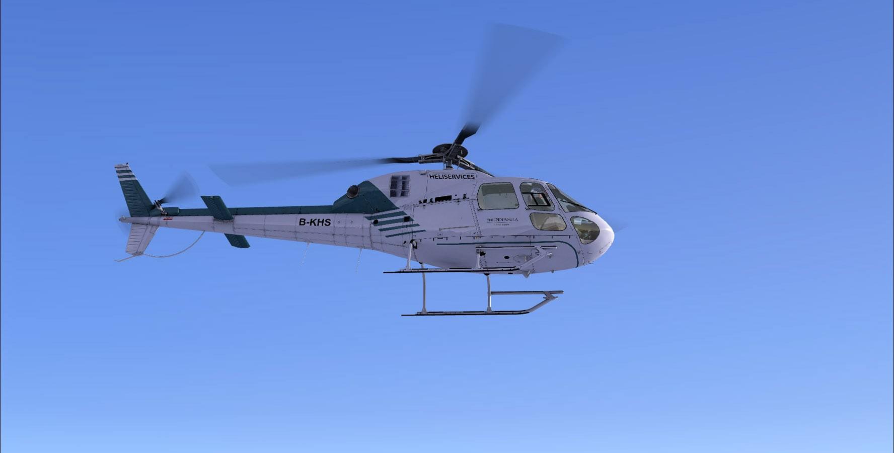 Eurocopter AS-355 Ecureuil II (FSX/FSXSE/P3D)