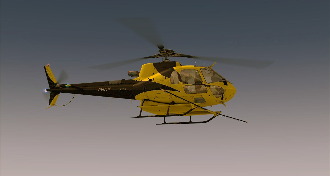 AS350 Ecureuil Expansion Pack (FSX/FSXSE/P3D)