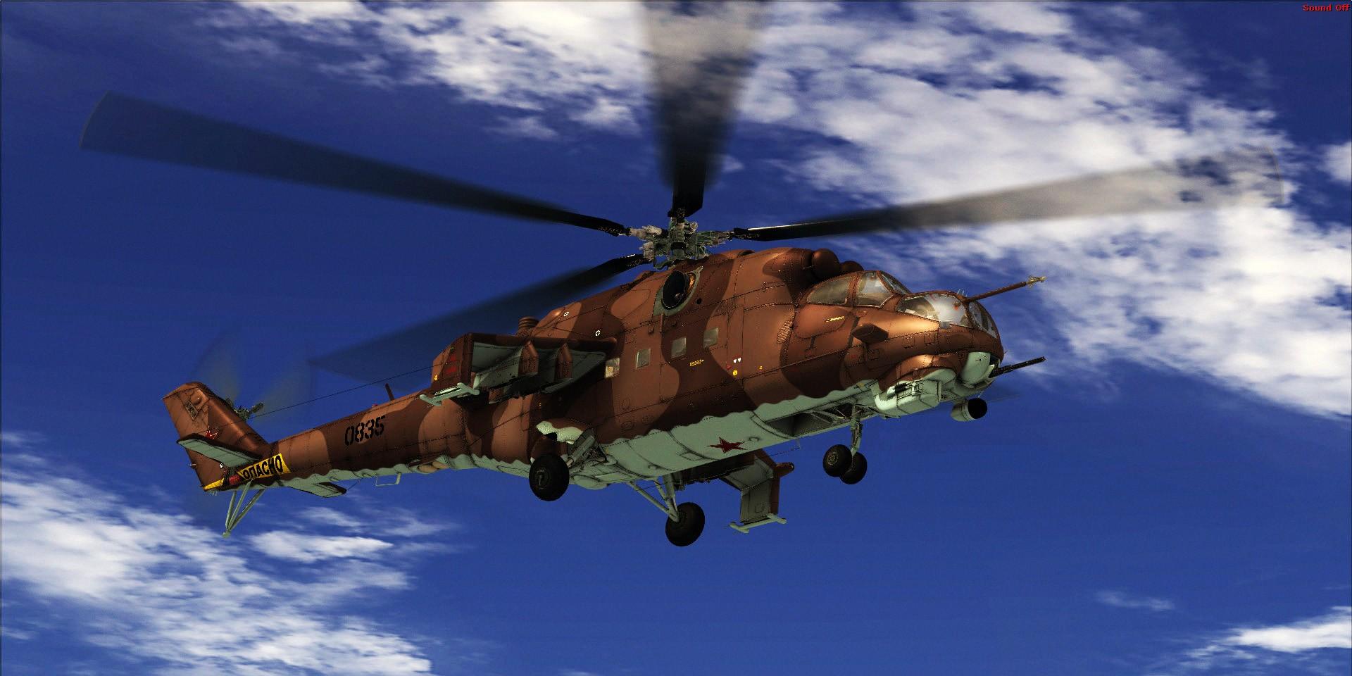 "Mil Mi-24V ""Hind"" (FSX/FSXSE/P3D)"