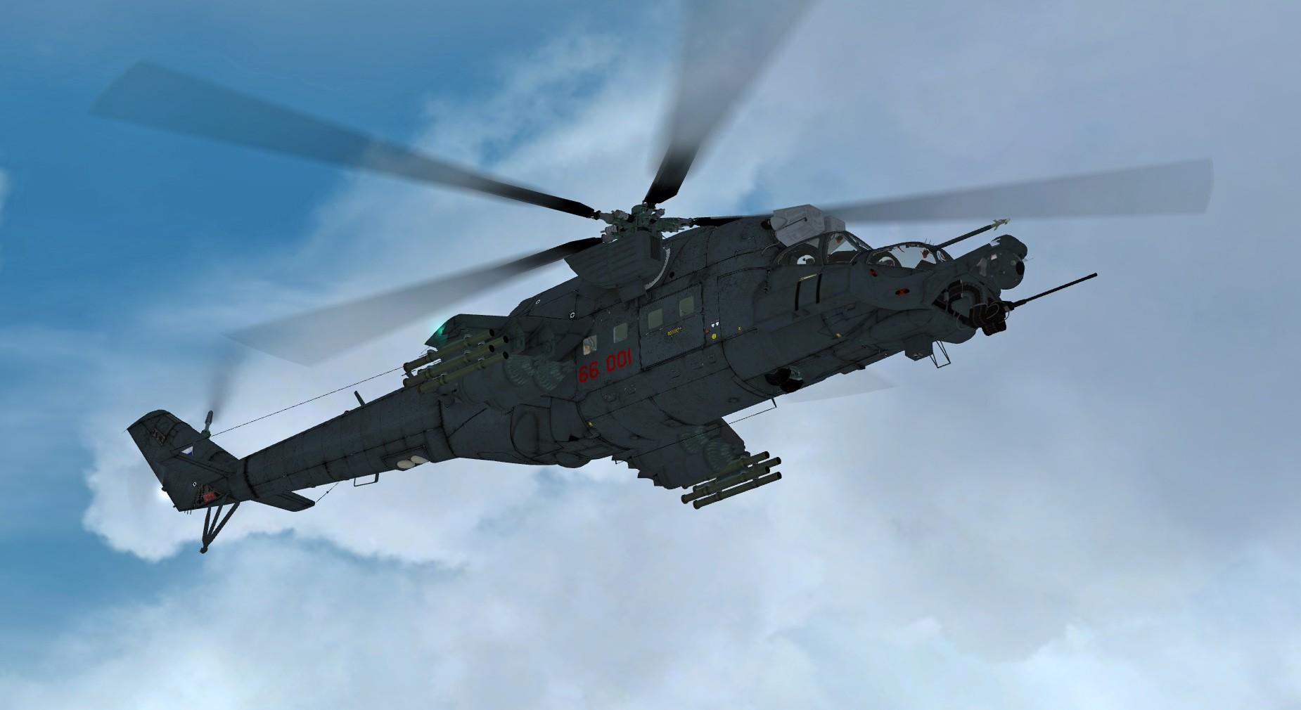 """Mil Mi-35 """"Super Hind"""" (FSX/FSXSE/P3D)"""