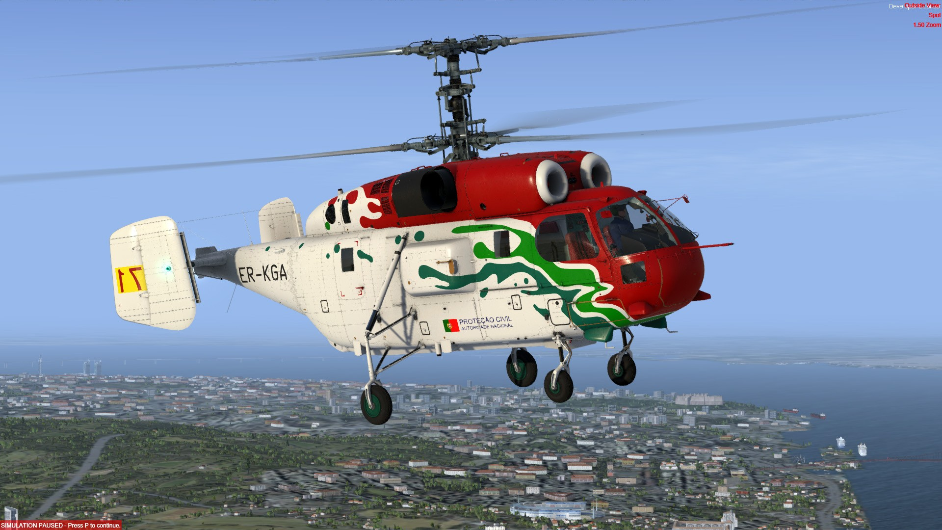 Kamov KA-32A Helix (P3D/FSX)
