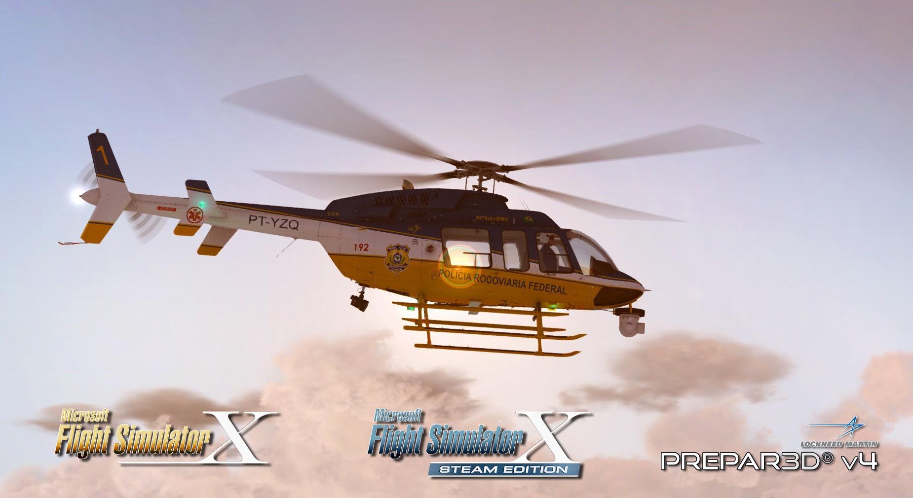 Bell 407 (P3D/FSX)