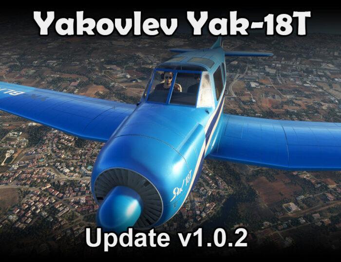 Yakovlev Yak-18T Update