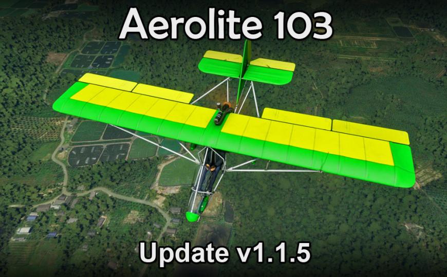 Aero-Works Aerolite 103 Update