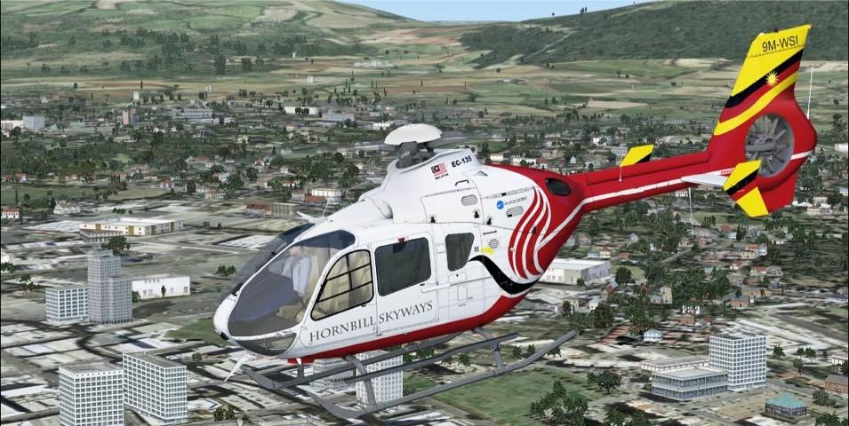 Eurocopter EC-135 (FSX/FSXSE)